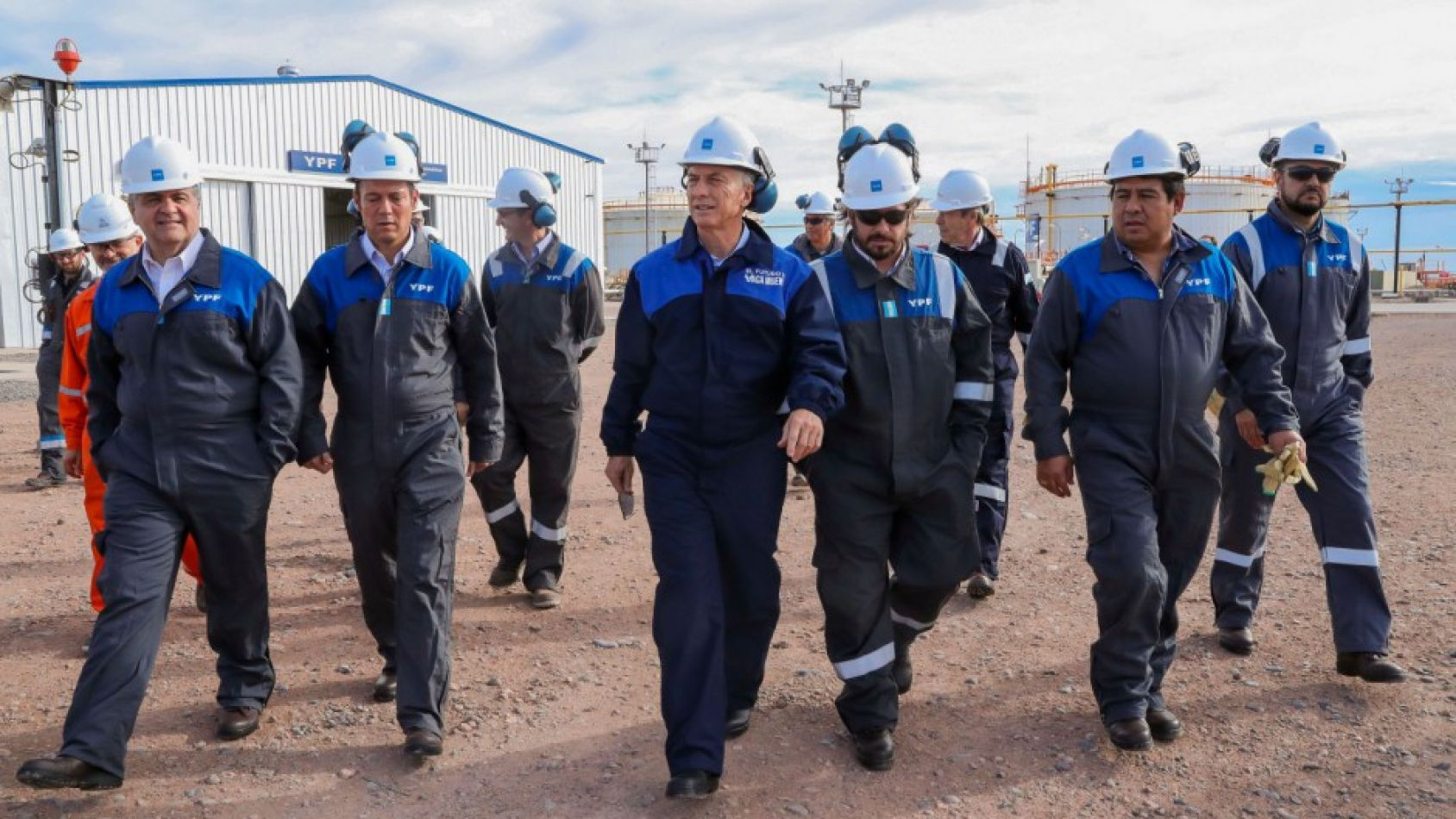 """""""Pusimos en marcha la revolución del empleo"""", dijo Macri"""