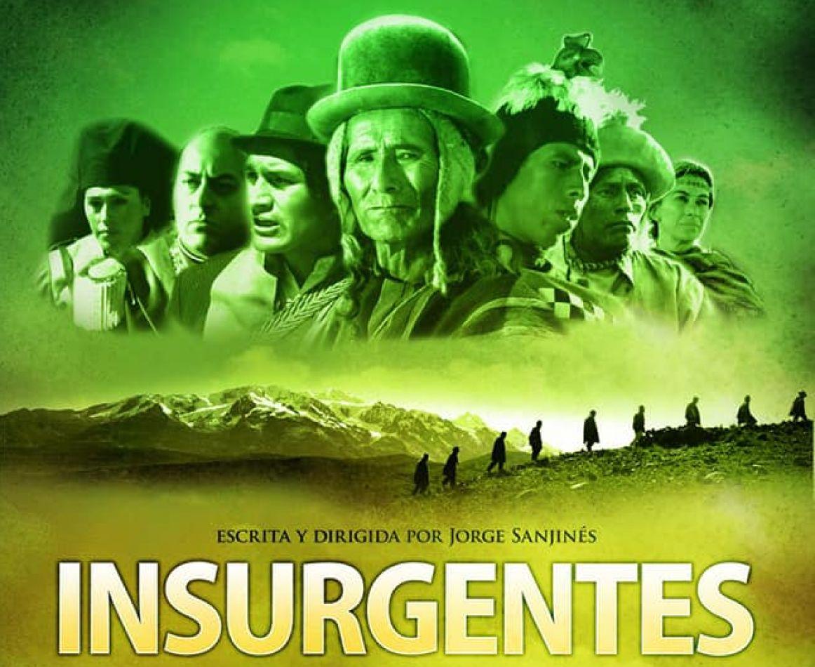 """Proyectarán la película """"Los insurgentes"""""""