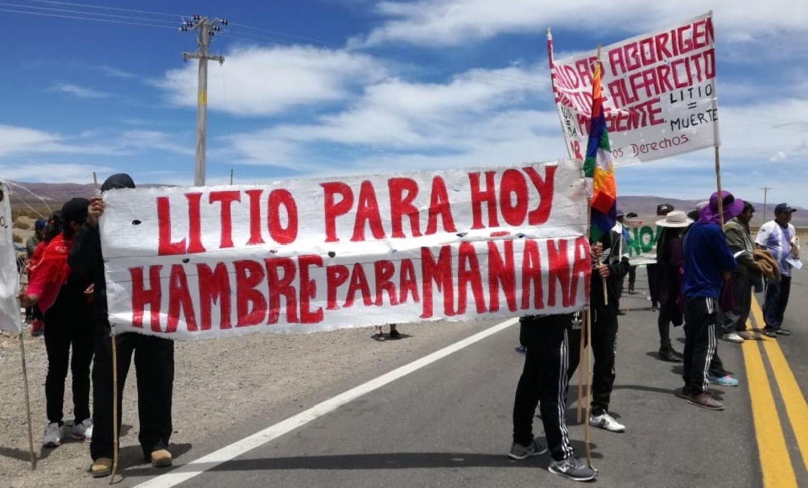 Morales quiere expropiar tierras de Comunidades Originarias en las Salinas Grandes con la excusa del turismo