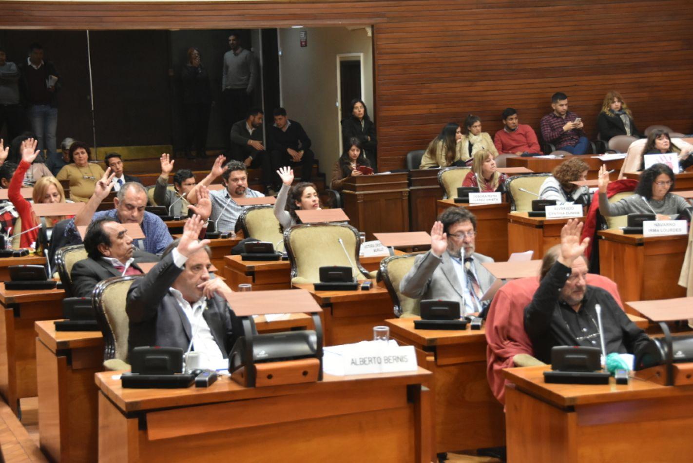 Foto: Legislaturajujuy.gov.ar. Sesión de ayer