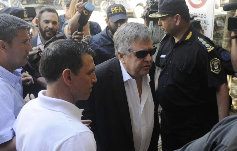 Foto: Juano Tesone. Stornelli en su presentación a Tribunales del 9 de noviembre