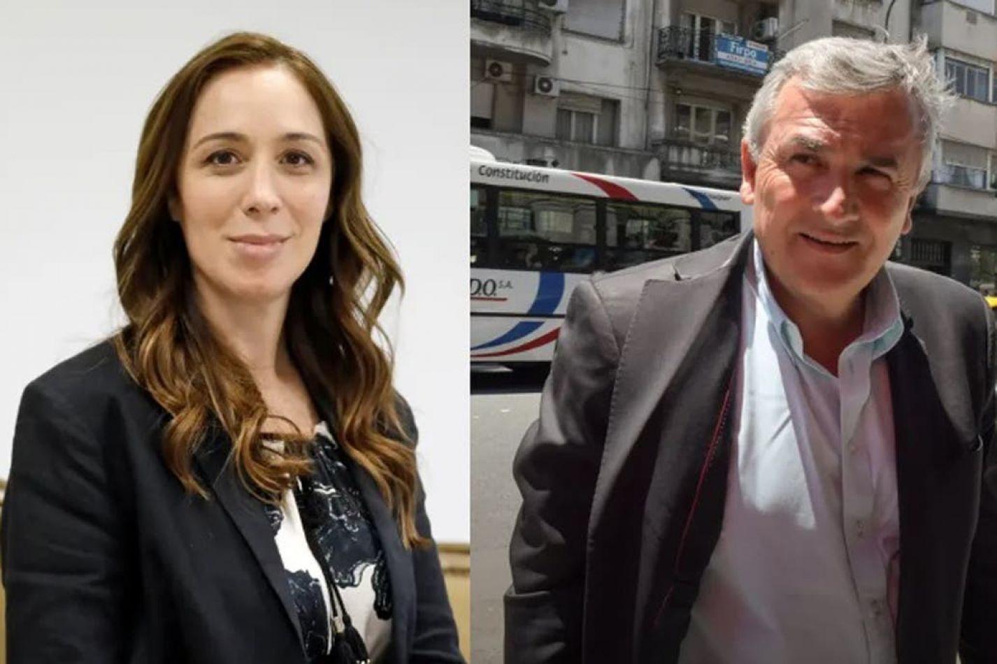 María Eugenia Vidal y Gerardo Morales fueron los que recibieron más ATN entre 2015 y 2019