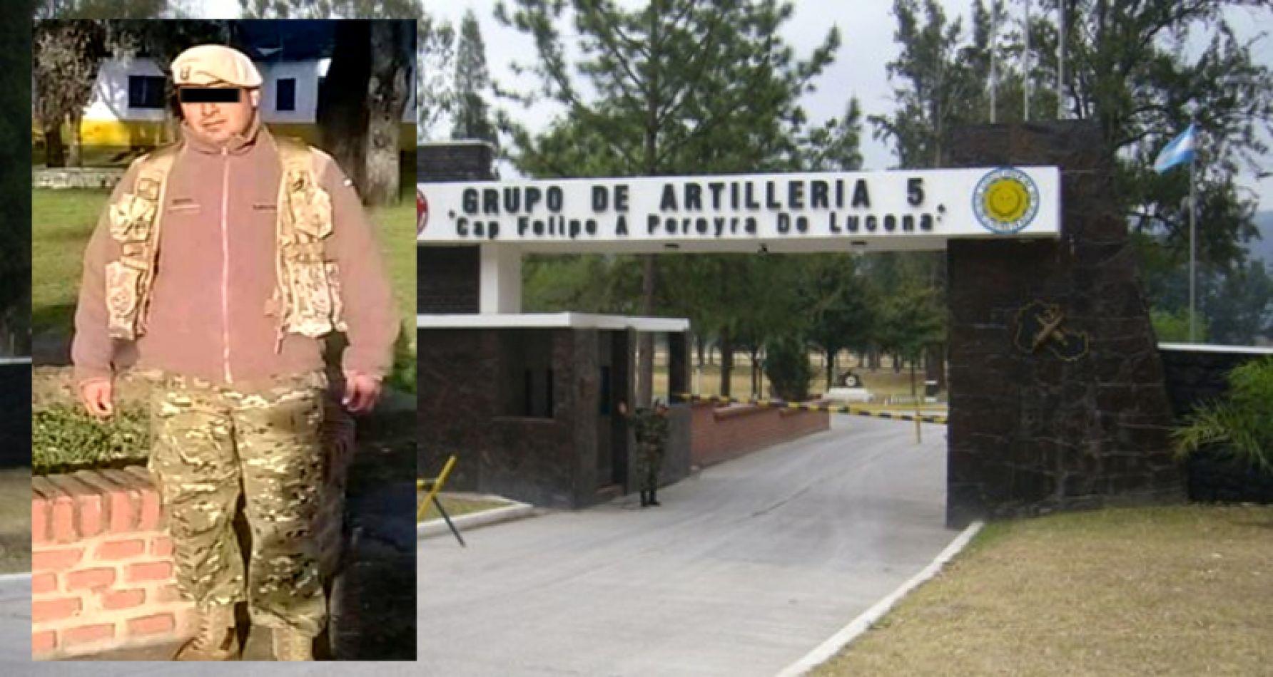 Foto: Jesús Ayarde, el sargento ayudante acusado del delito de abuso sexual