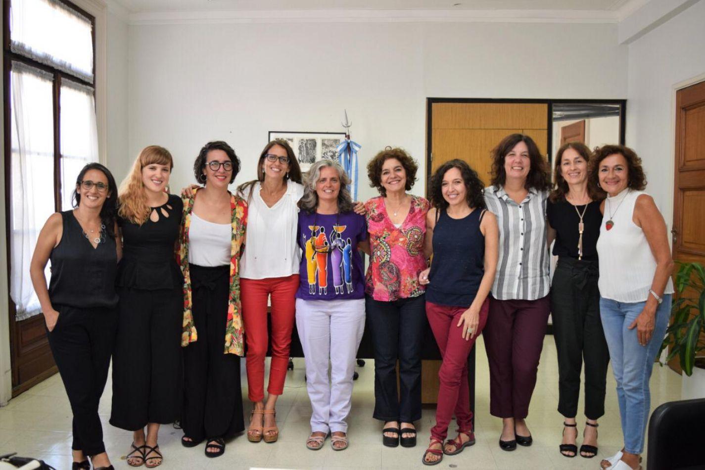 Gomez Alcorta se reunió con expertas en políticas de cuidados