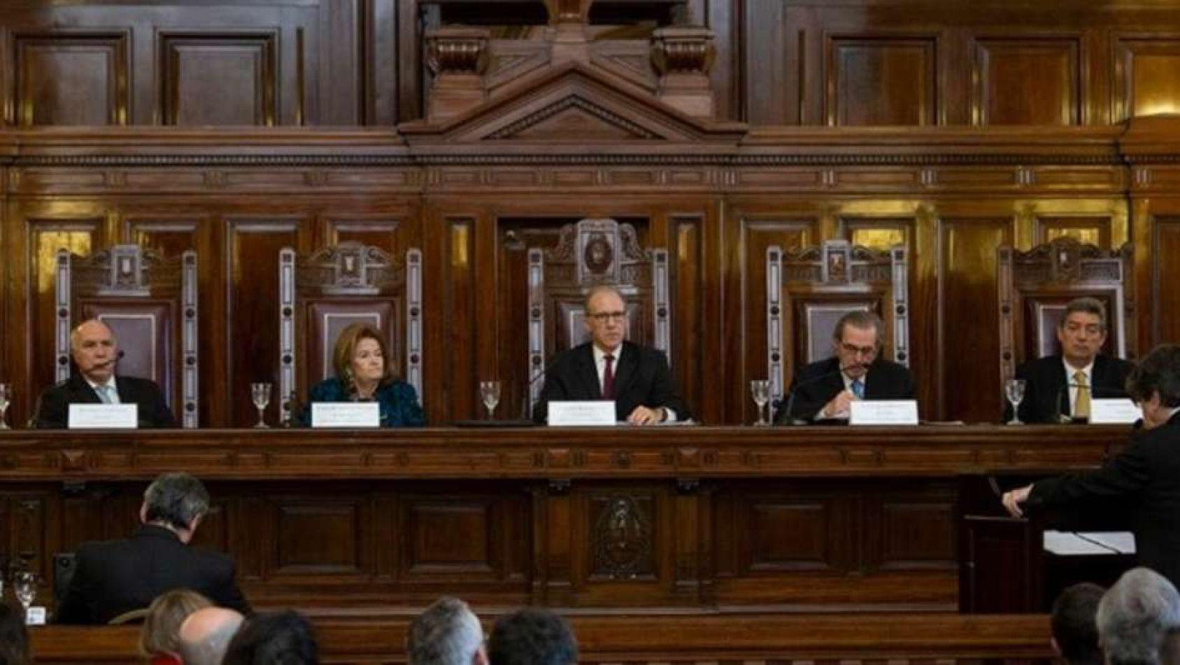 Foto: Corte Suprema de Justicia de la Nación