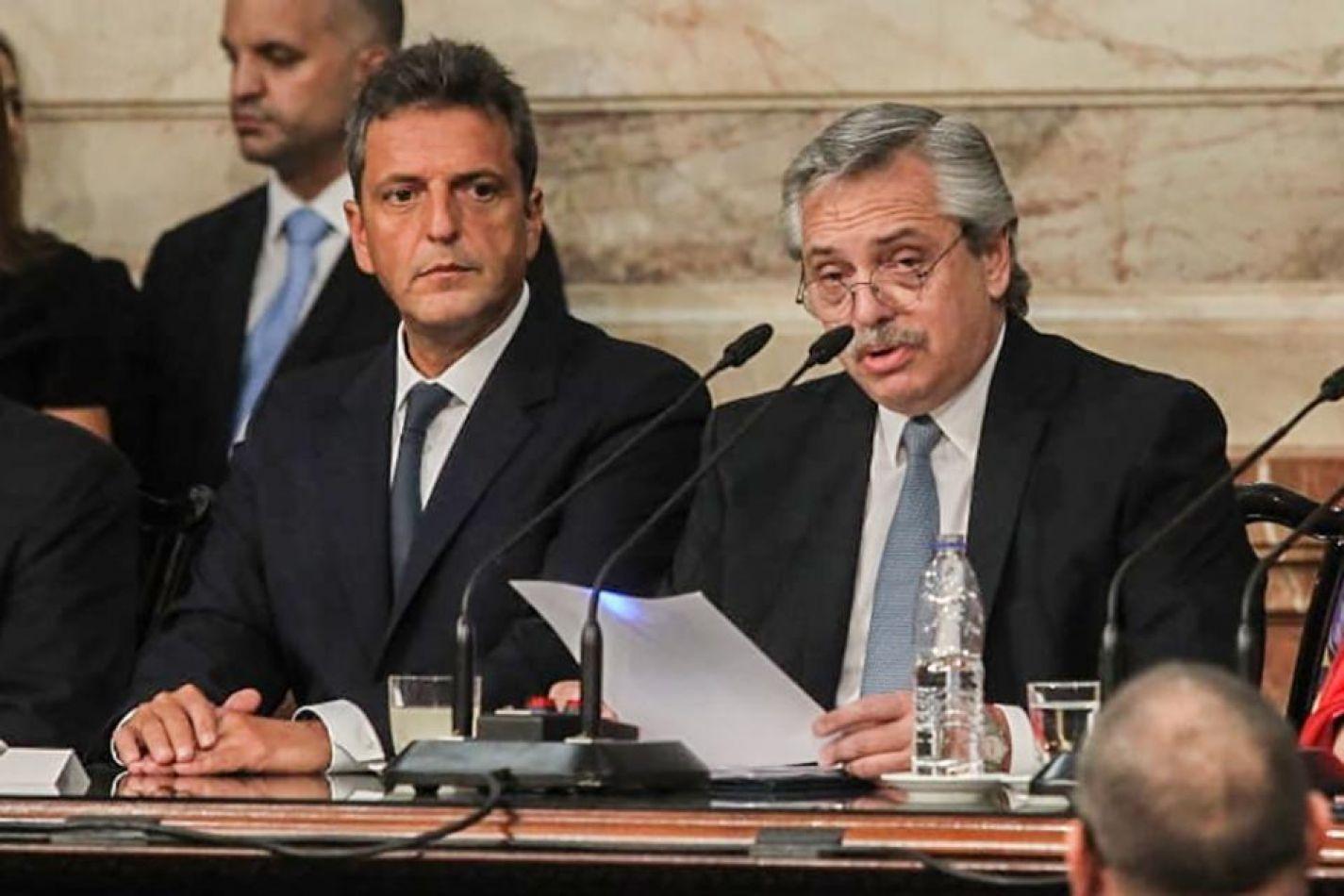 Las principales definiciones de Alberto Fernández en la apertura de sesiones ordinarias 2020