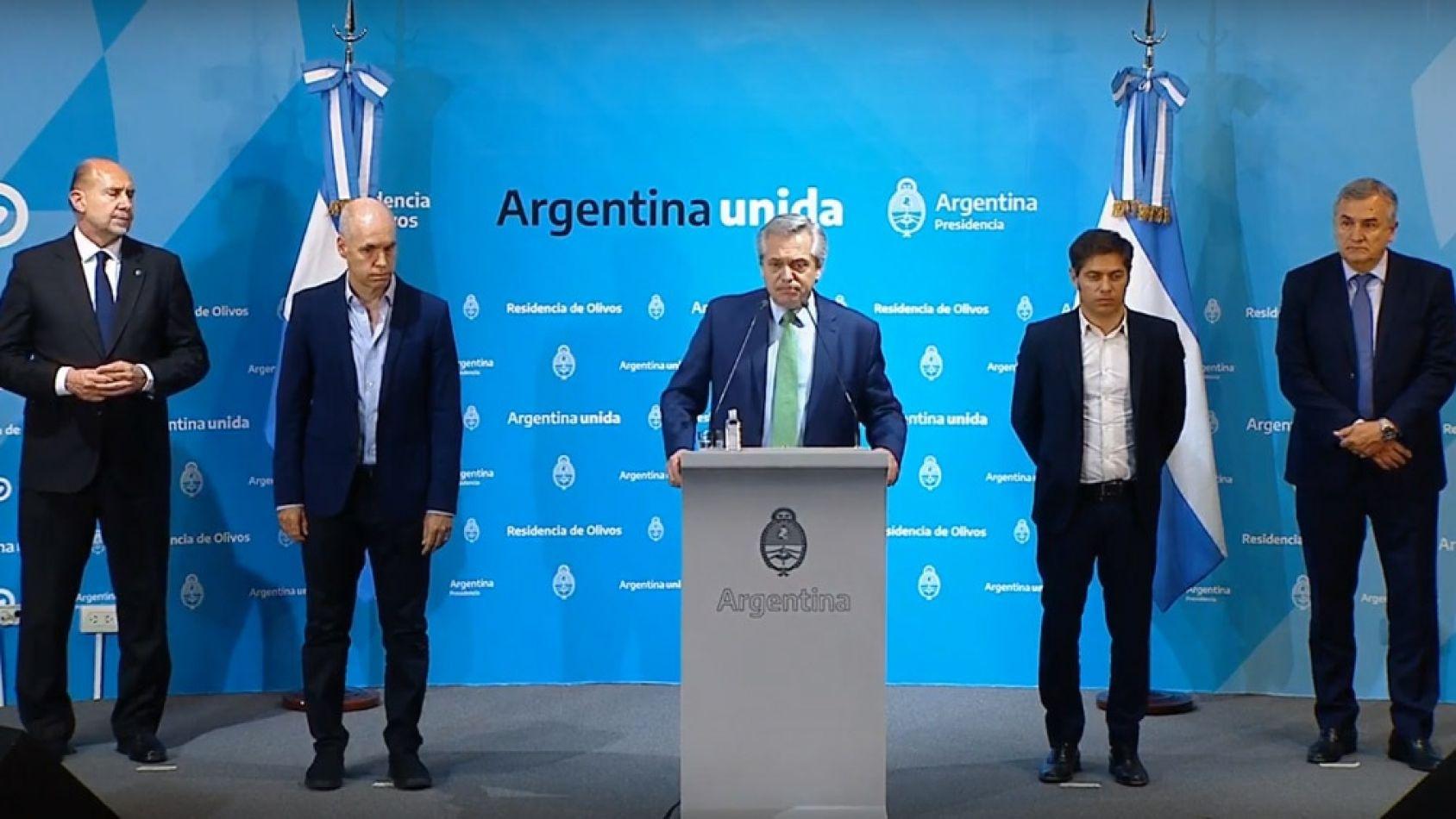 Alberto Fernandez anunció la cuarentena obligatoria hasta el 31 de marzo
