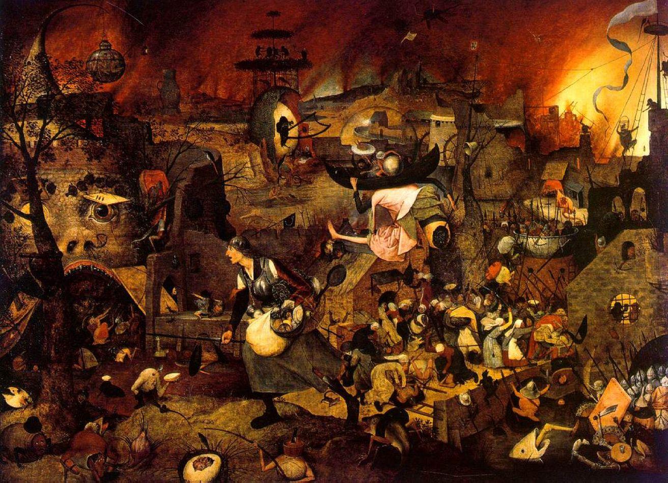 """La loca meg"", cuadro de Pieter Brueghel"