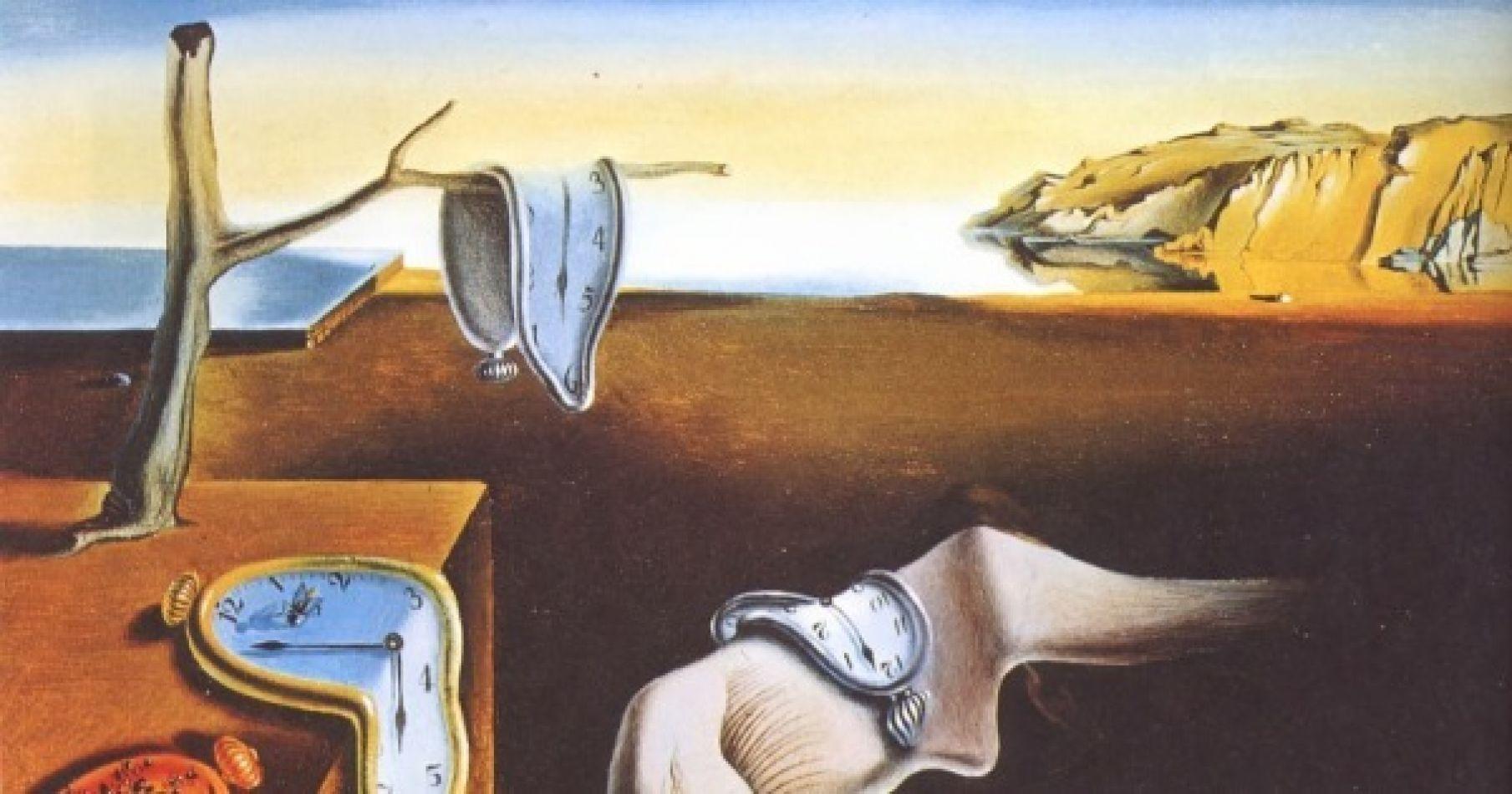 Cuadro: Persistencia de la memoria, Salvador Dalí.