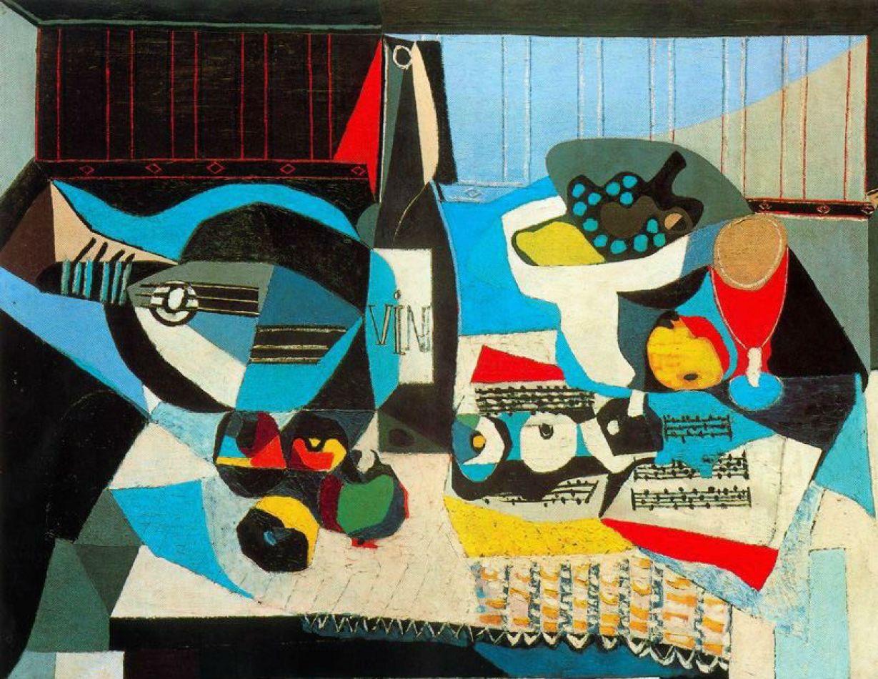 """""""Botella de vino"""", Pablo Picasso"""