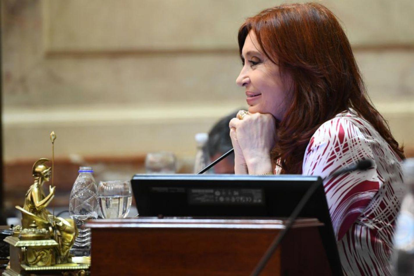 Fernández se mostró satisfecha con el fallo de la Corte.  Imagen: NA