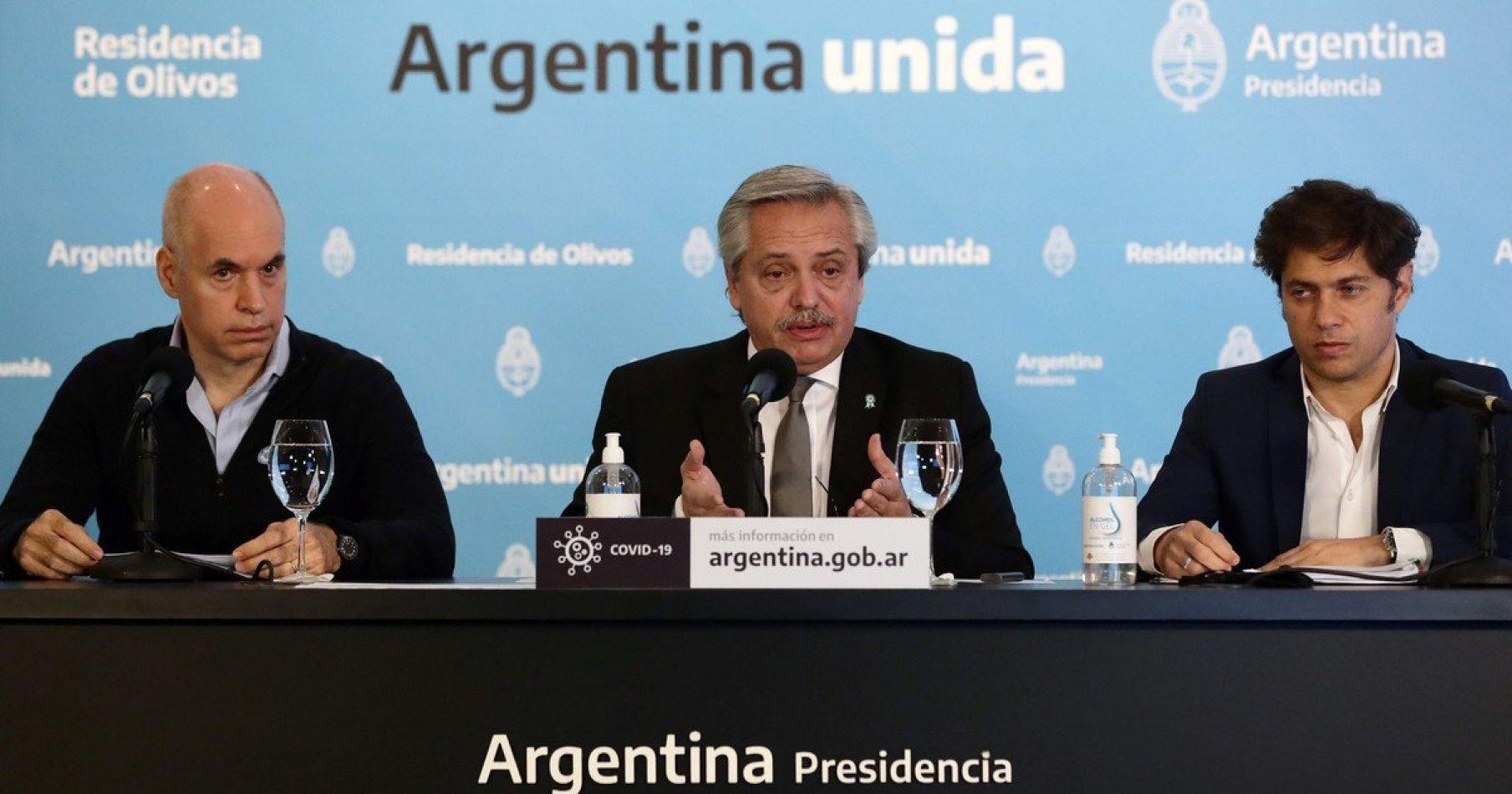 Alberto Fernándezanuncióla extensión de la cuarentena obligatoria hasta el 7de junio
