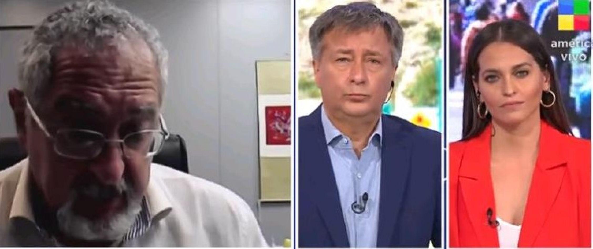 """Bouhid comentarista de la realidad: """"Sí sucedió que gente falleció en sus casas"""""""