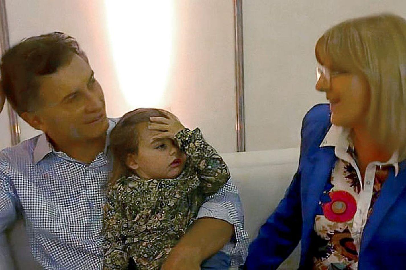 Foto: Macri junto a Martinengo