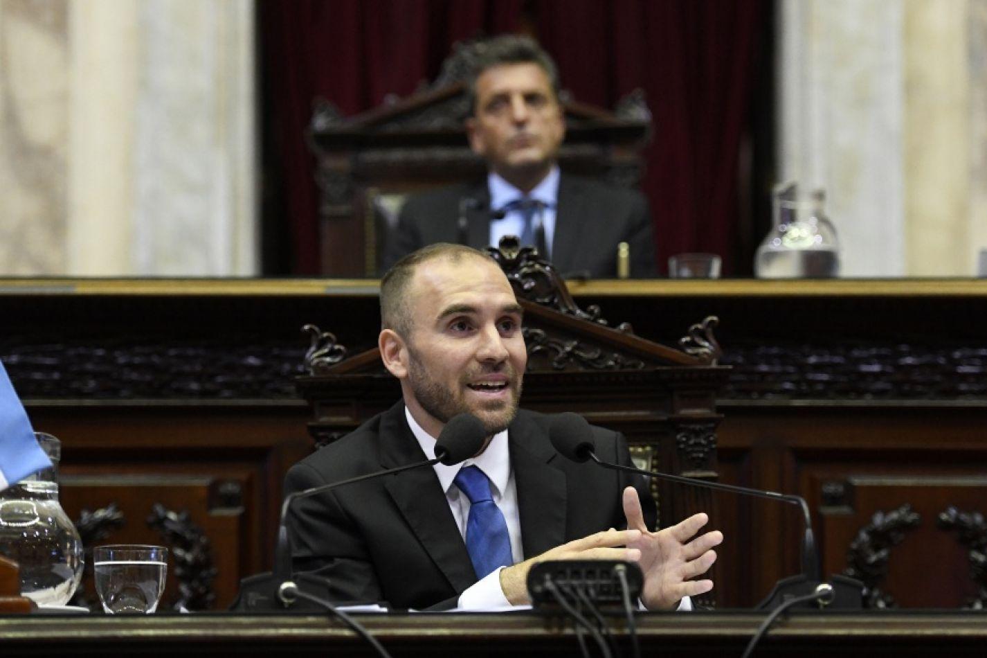 Martín Guzmán presentará el proyecto de Presupuesto 2021 en Diputados