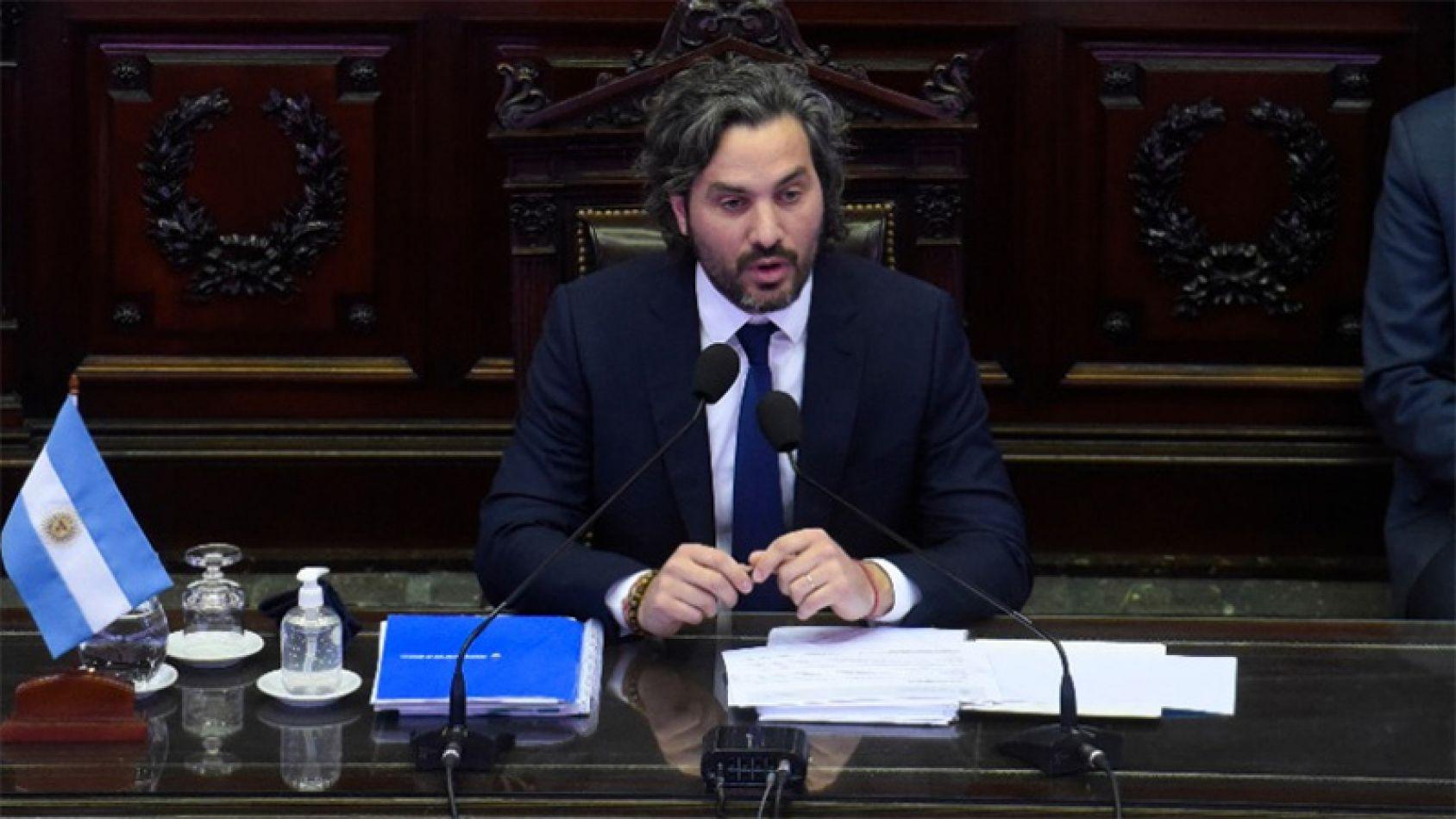 Por tercera vez, Santiago Cafiero dará explicaciones de gestión frente al Senado