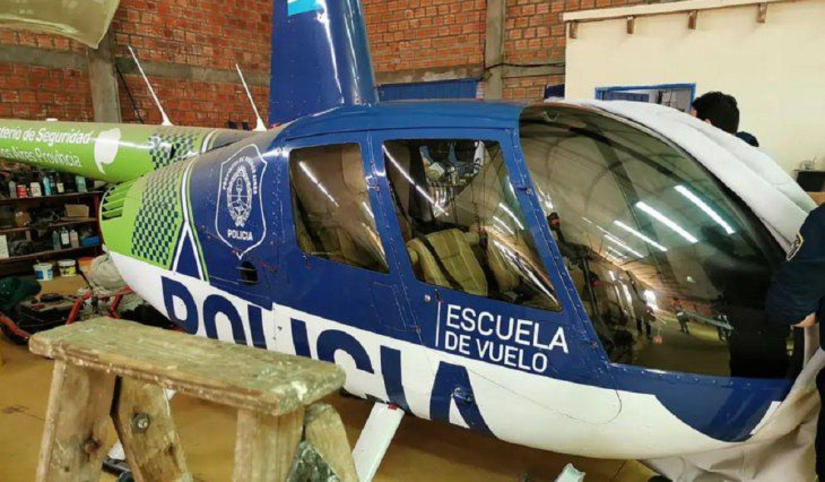 """""""Se olvidaron un helicóptero que apareció en un operativo narco"""""""