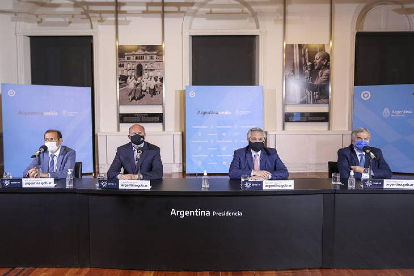"""Alberto Fernández anunció restricciones en 18 provincias: """"Les pido que entiendan la dimensión del problema"""""""