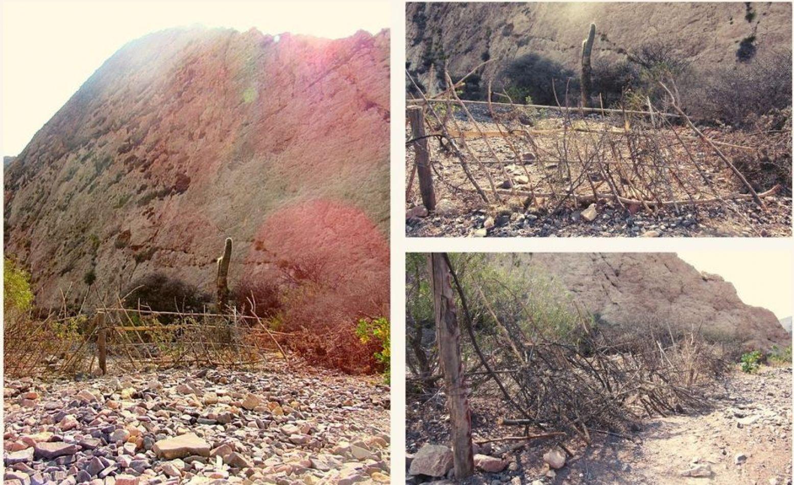 Juella: 2 hermanas cercaron un camino impidiendo la llegada a un sitio arqueológico