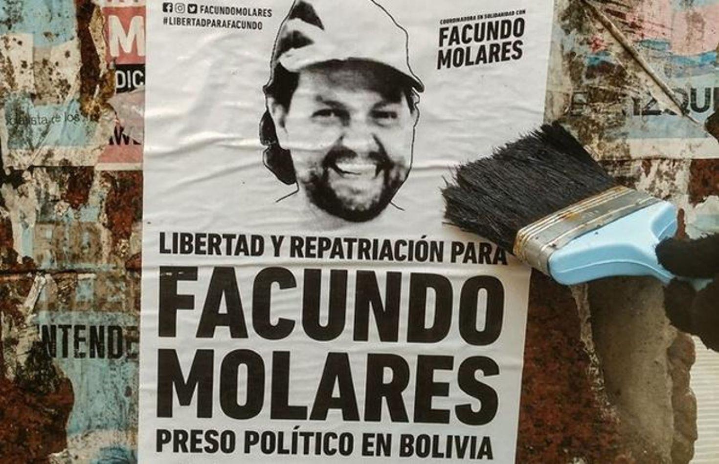 Justicia boliviana autorizó el retorno al país del fotógrafo argentino Facundo Molares