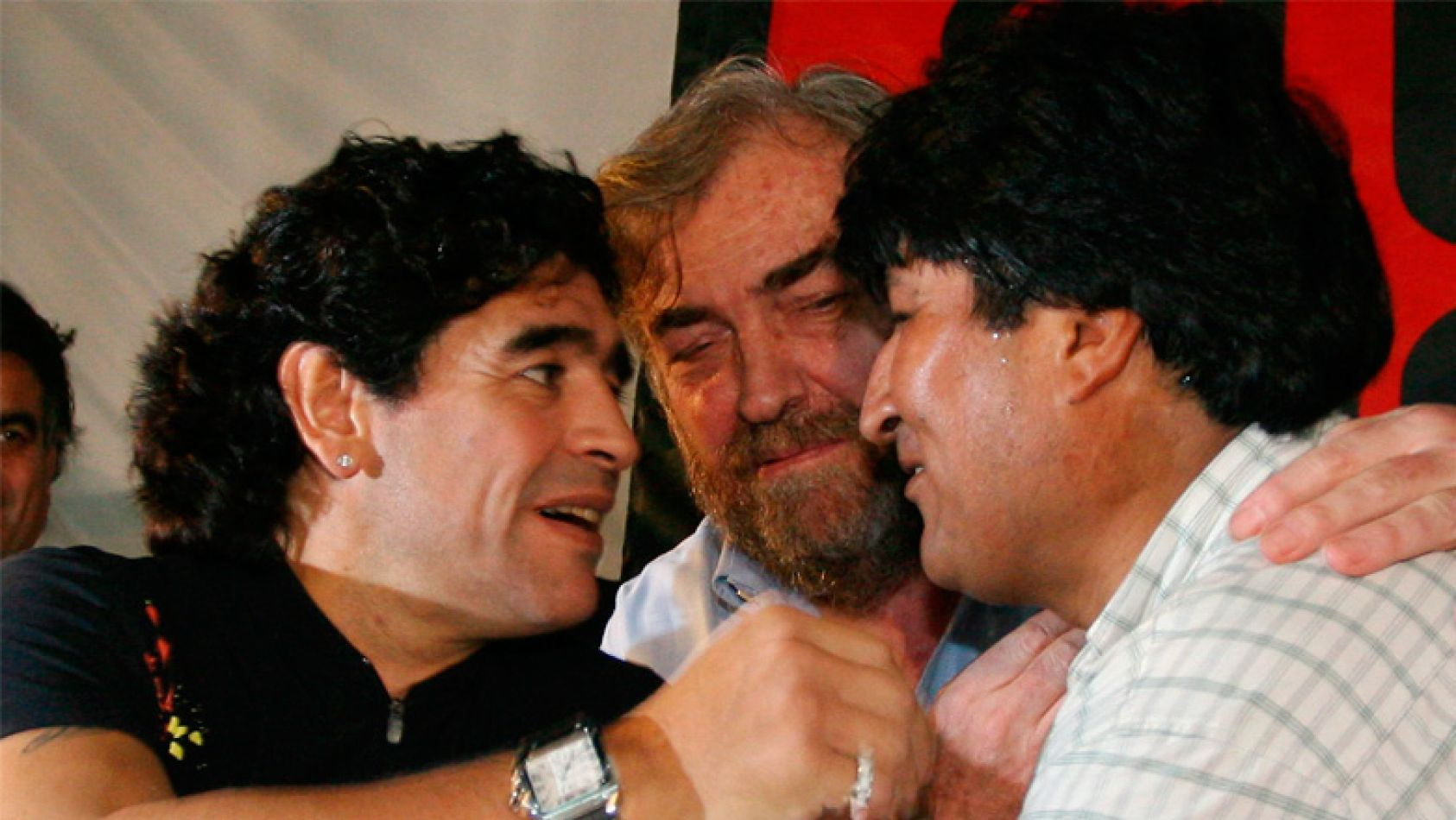 """""""Diego siempre será mi hermano"""", la sentida carta de Evo Morales"""