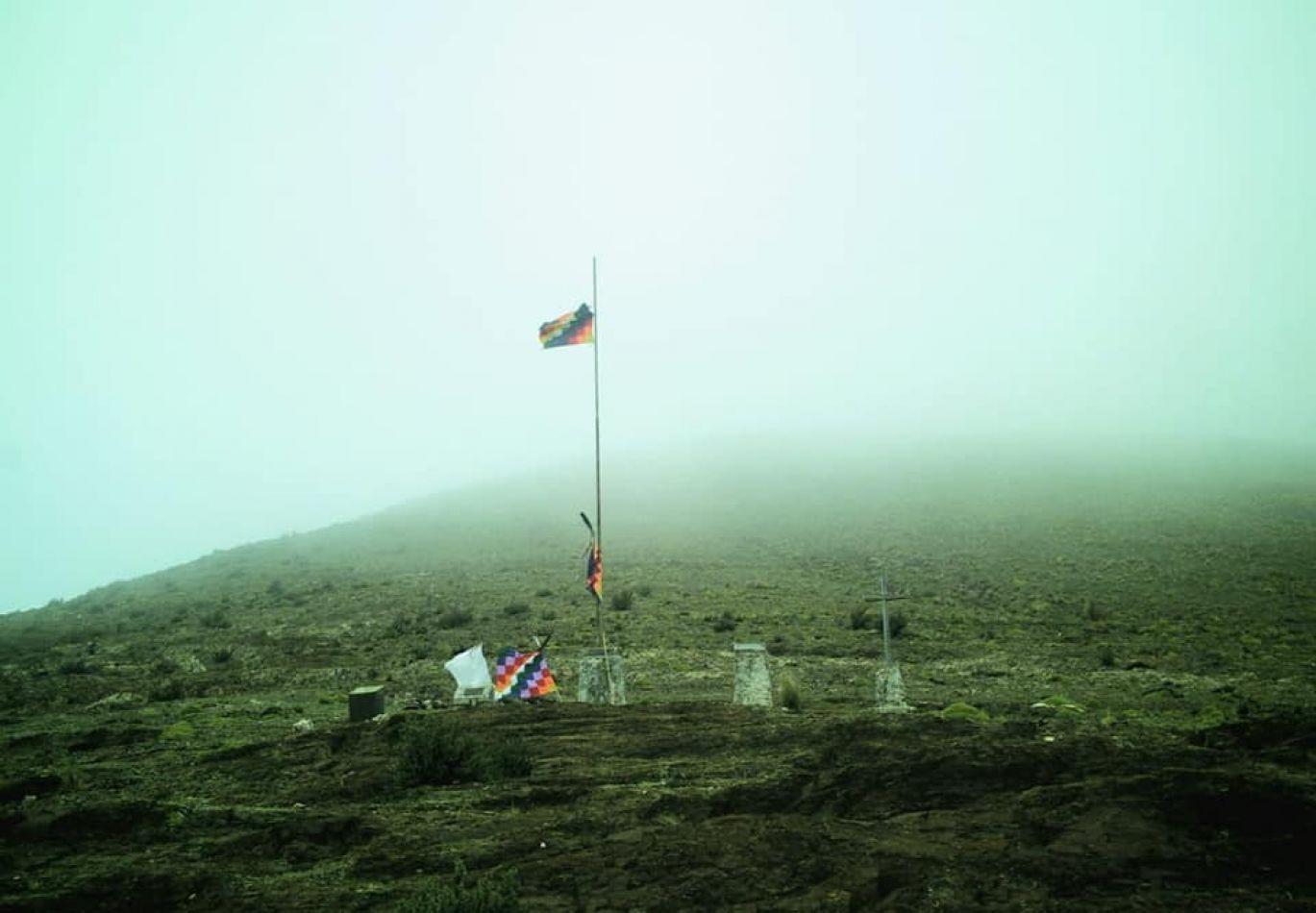 Abra de cuatro almas, lugar donde se libró la batalla y estarían depositados los restos de 4 combatientes puneños