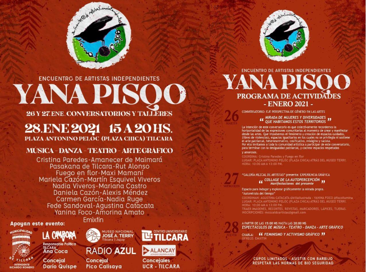 Yana Pisqo: el encuentro de artistas independientes que apunta a la identidad