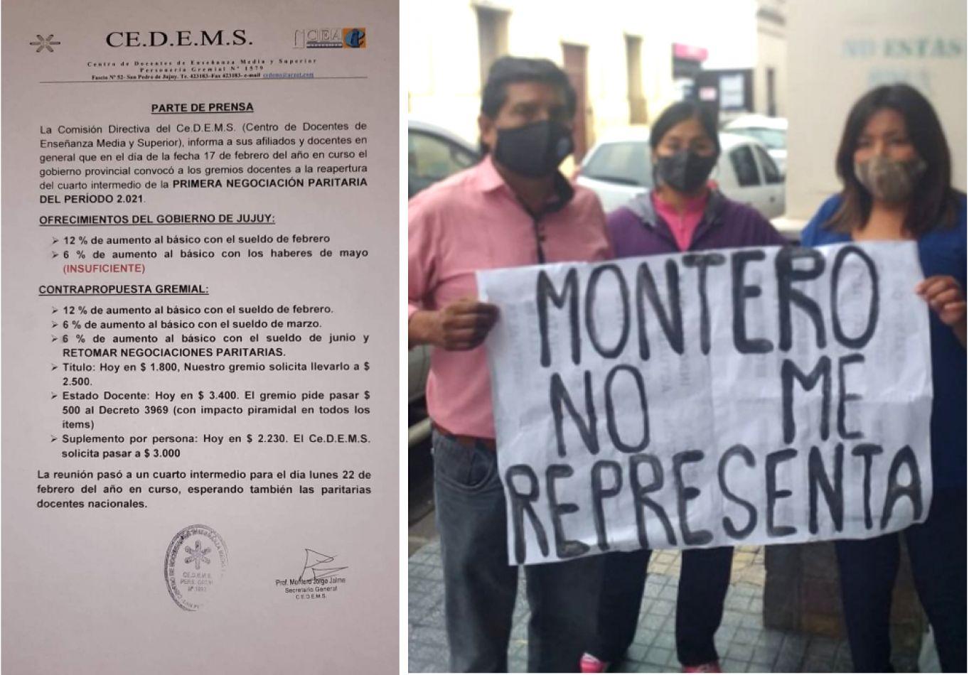 CEDEMS: sin asamblea de afiliados desde agosto de 2019, cuestionan su contrapropuesta salarial