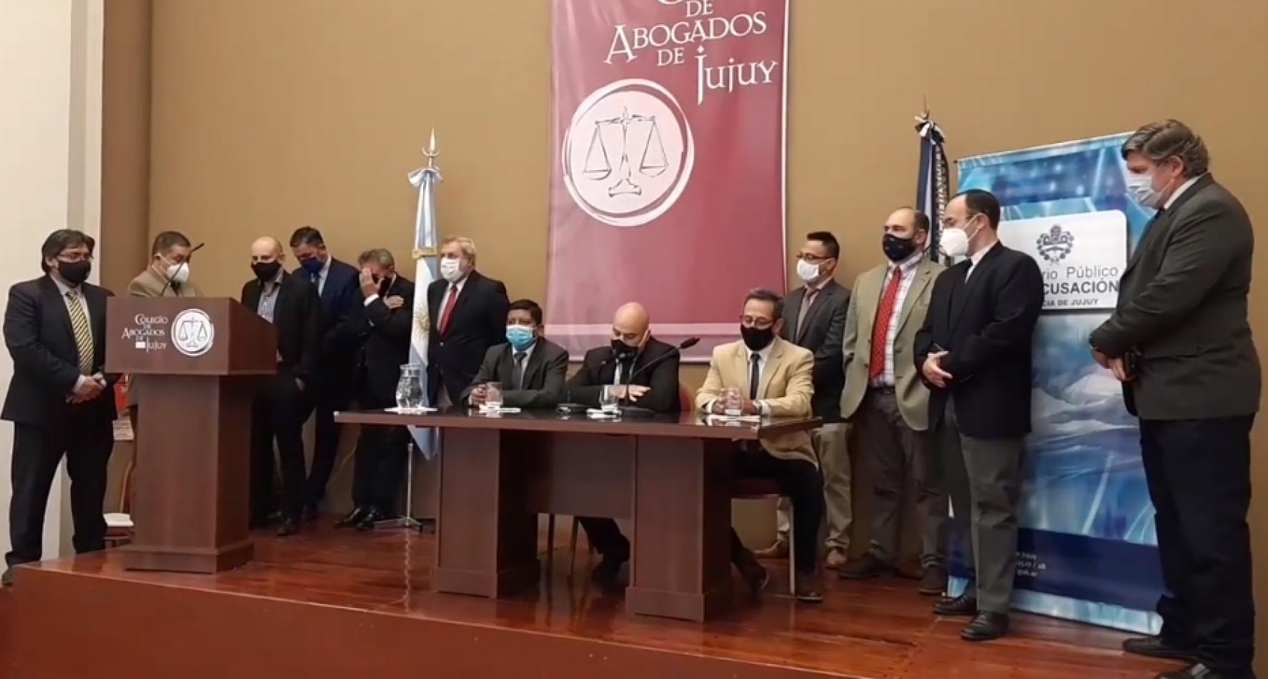 Fiscales del MPA manifestaron su apoyo a Lello Sánchez, pese a las denuncias de violencia