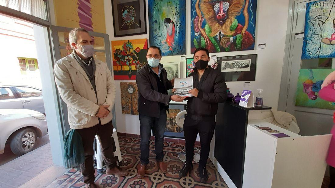 """Declararon de Interés Municipal, Cultural, Educativo y Turístico la apertura de """"Quilla"""", Galería de Arte y Diseño"""