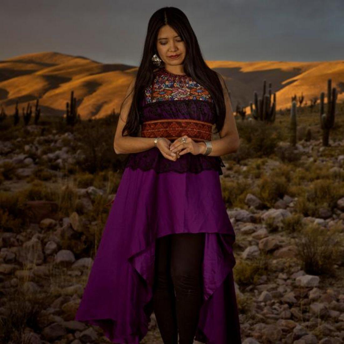 """Añawita presenta """"Mis ancestras cantan"""", su primer disco solista."""