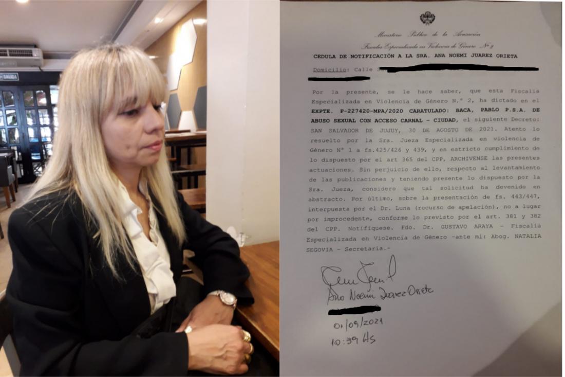 """""""Pablo Baca no es inocente, ni mi denuncia es falsa"""", manifestó la víctima del ex juez"""