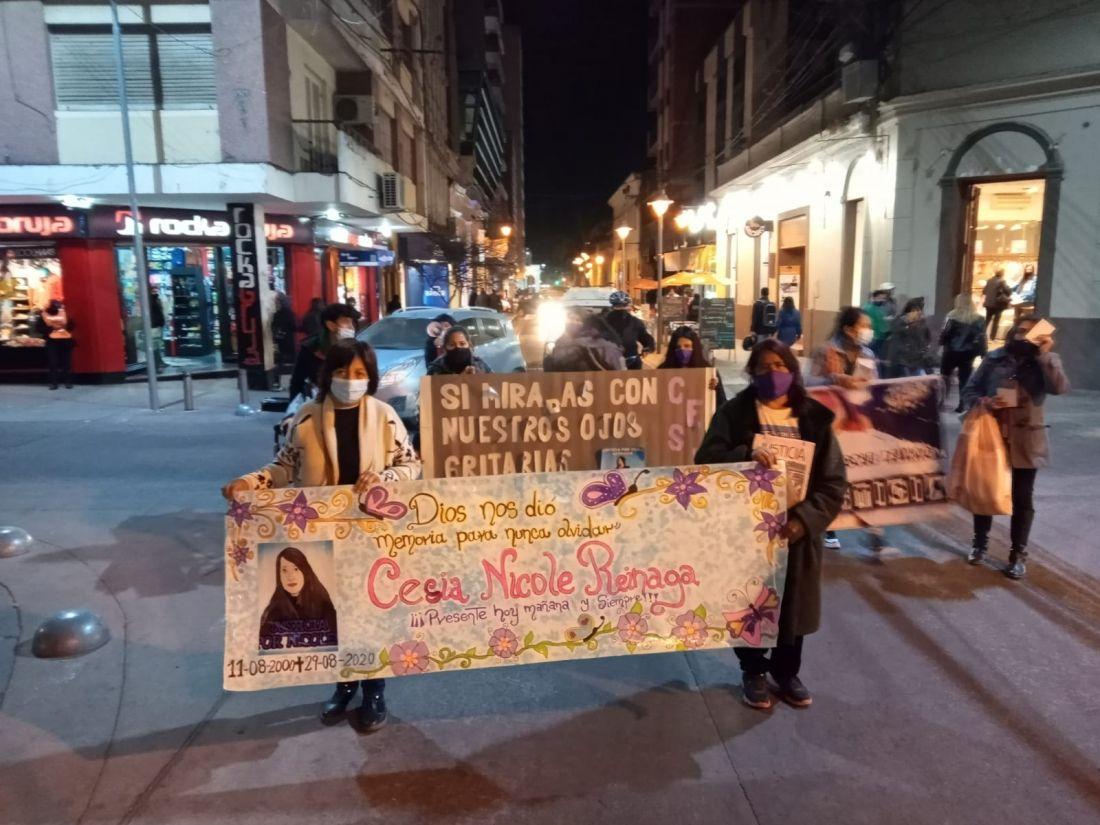 Justicia machista: ordenaron el cese de detención a los cómplices del femicida de Cesia Reinaga