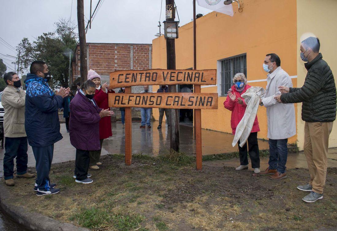"""Concejales celebraron los 30 años del barrio """"Alfonso Calsina"""" en Alto Comedero"""
