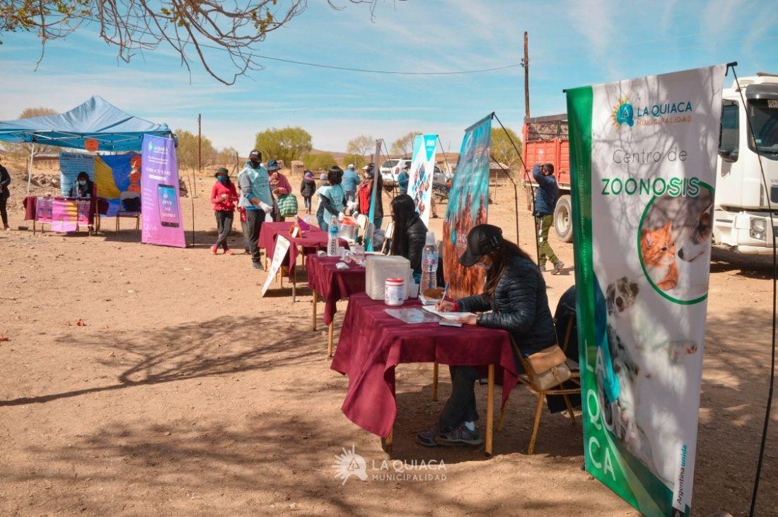 """""""Construir comunidad"""" es un programa que se implementa desde el ministerio de Seguridad de Nación junto al municipio de La Quiaca"""