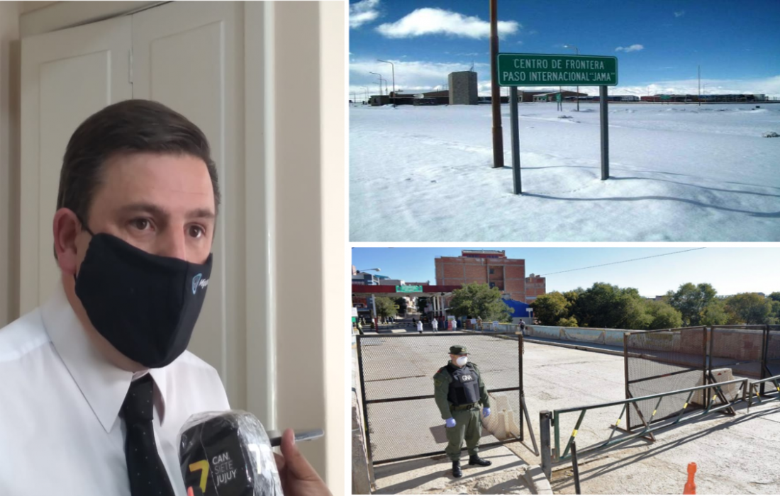 Autoridades nacionales trabajan para que Jujuy reabra los pasos fronterizos con Bolivia y Chile