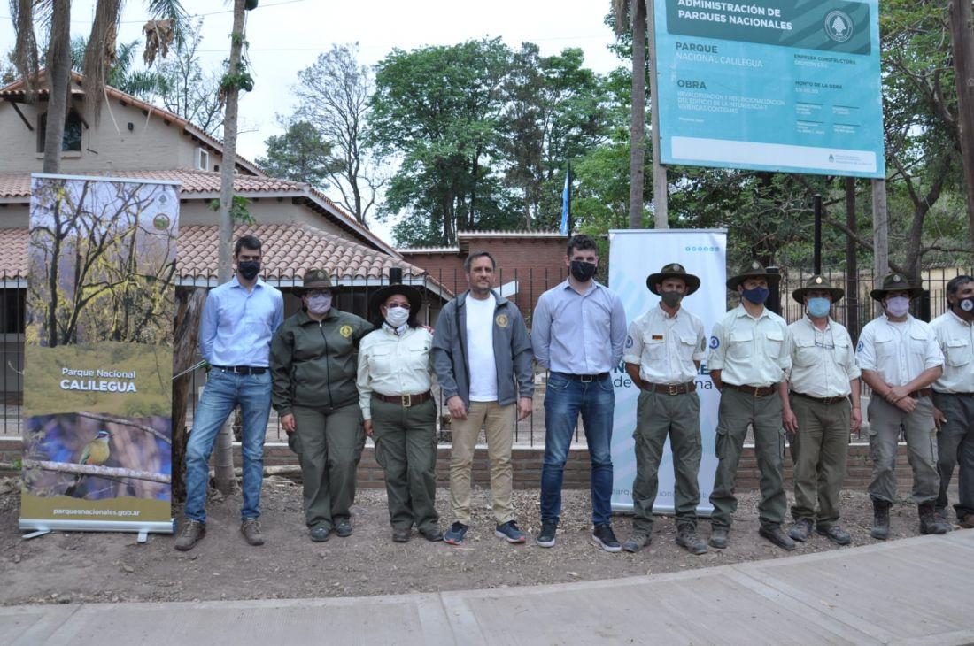 Puesta en valor de la intendencia del Parque Nacional Calilegua, avances en un nuevo convenio colectivo para guarparques