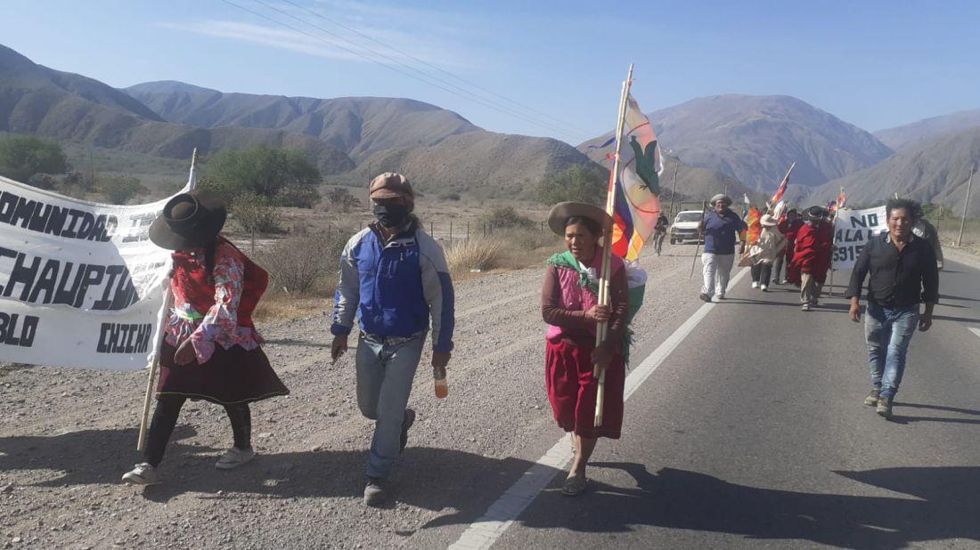 Qhapaq Ñan, en defensa del agua y la vida, el principio de la libre determinación de los Pueblos Indígenas