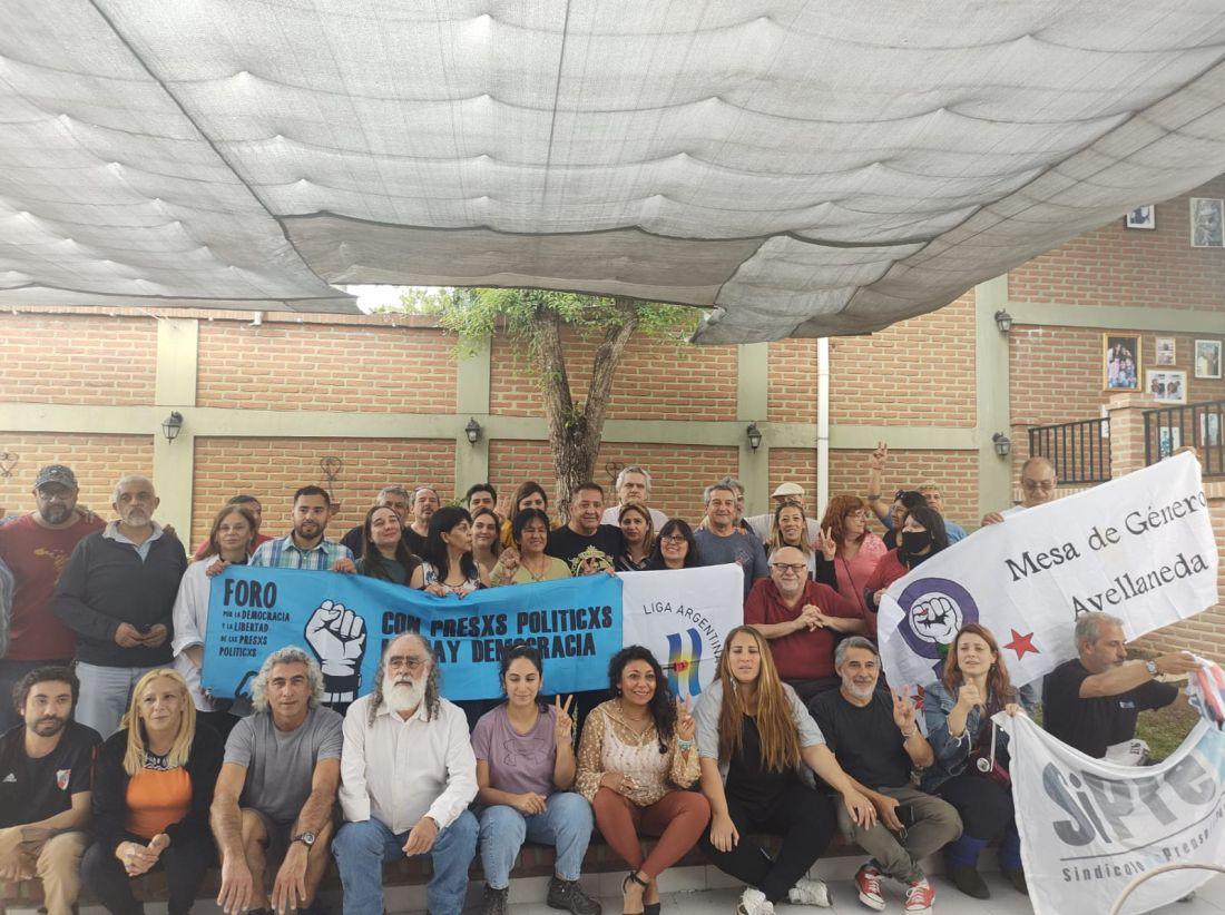 Delegación de referentes de DD.HH se reunieron con Milagro Sala y otros presos políticos de Jujuy