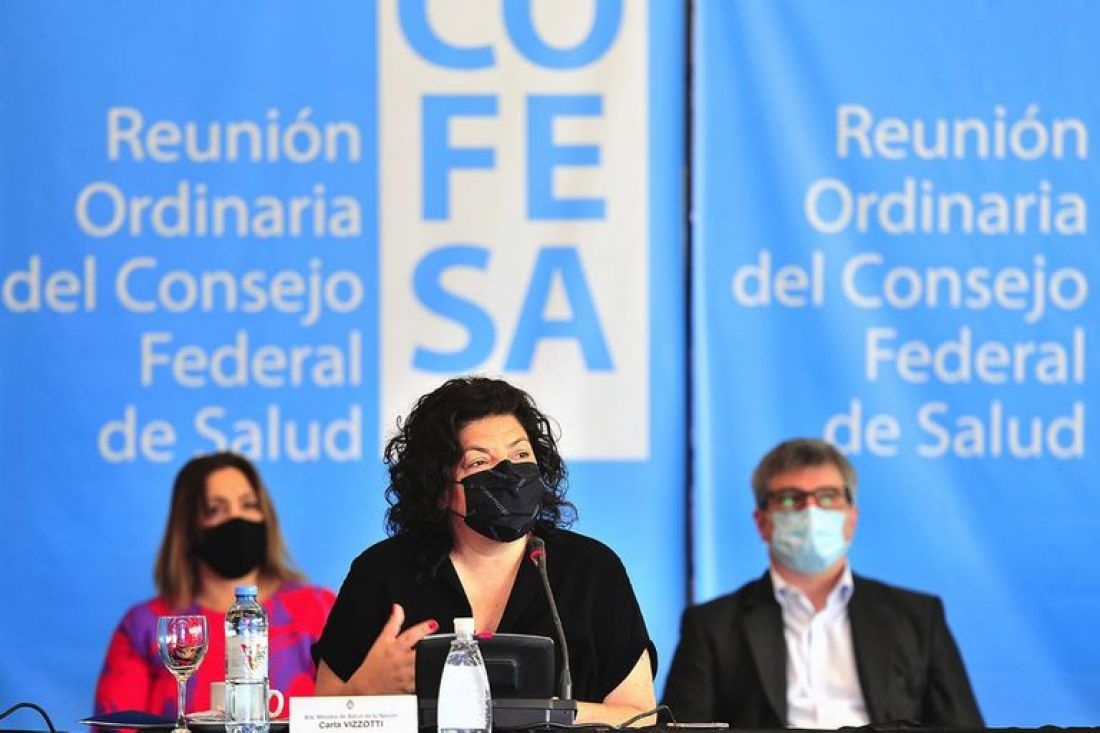 La ministra de Salud Vizzotti lanza oficialmente la campaña de vacunación pediátrica contra el covid